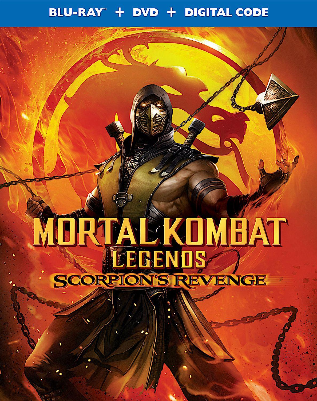 Mortal Kombat Legends Scorpion S Revenge Blu Ray Warner In 2020