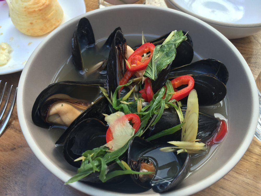 Redbird - Los Angeles, CA, United States. Mussels