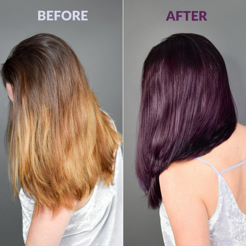 Did You Know You Can Achieve Pretty Plum Hair At Home Ion Color