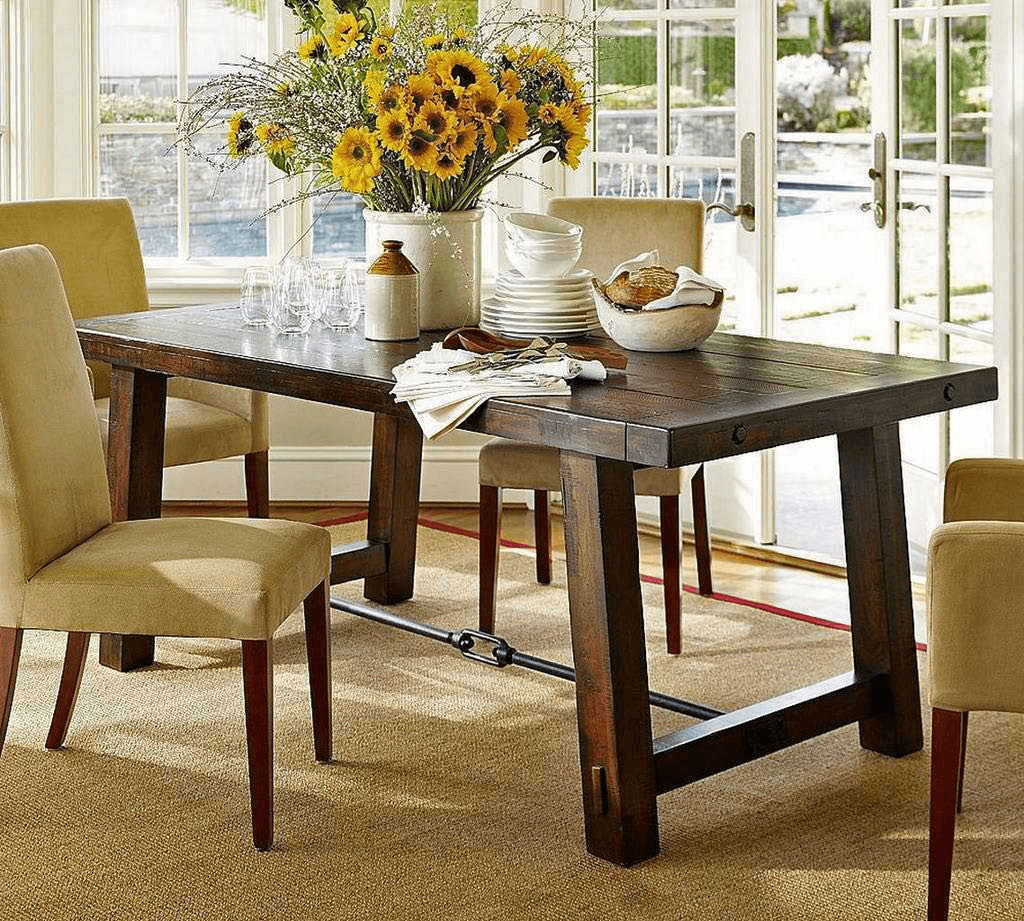 Dining table centerpiece ideas for everyday | Dining table ...
