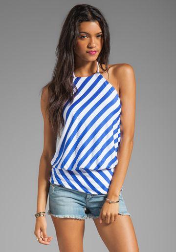i love a good blue/white stripe