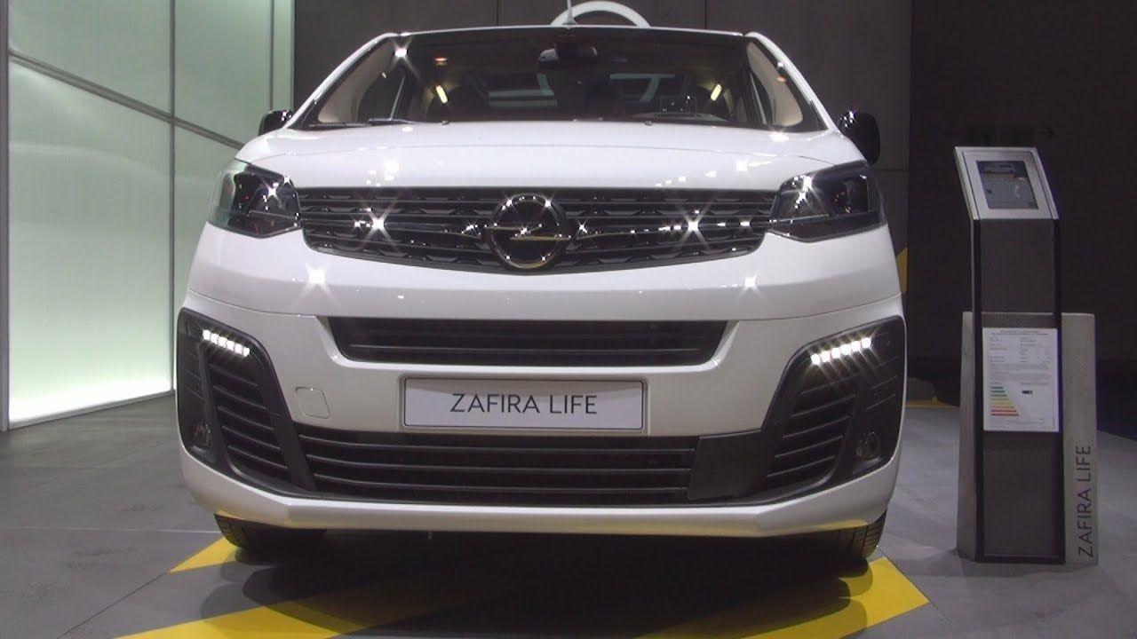 Opel Zafira Life M Innovation 2 0 110 Kw 2020 Exterior And Interior Opel Vehicles Suv