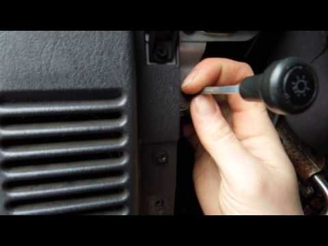 How To Repair Or Replace Jeep Wrangler Tj 1999 Headlight Switch And Connector Plug Jeep Cherokee Headlights 2001 Jeep Cherokee Jeep