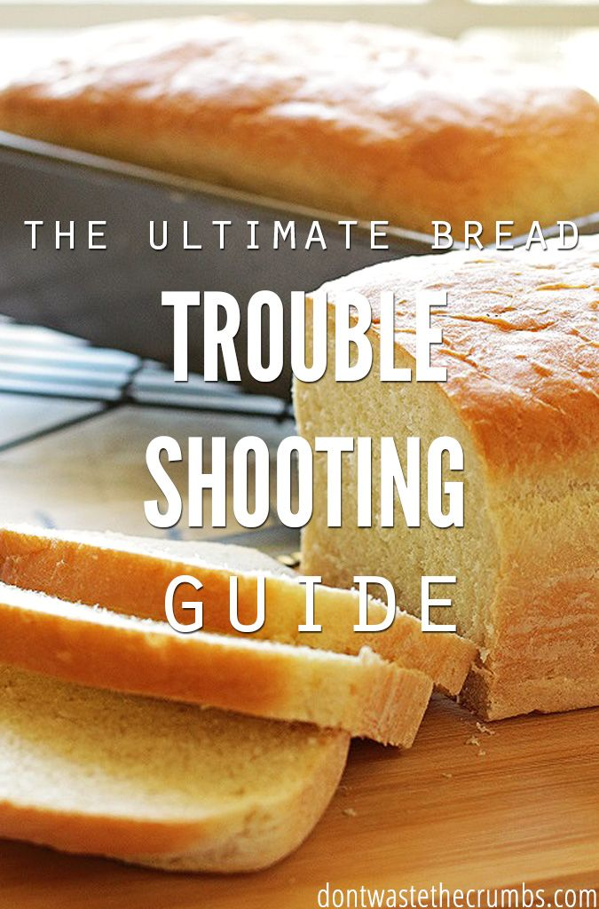 Ultimate Troubleshooting Guide for Baking Bread is part of Bread baking - New to making bread  This ultimate guide for baking bread is your new best friend  Easily troubleshoot yeast, texture, rise and so much more!
