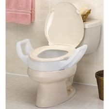 Toilet Seat Riser With Handles With Images Handicap Bathroom