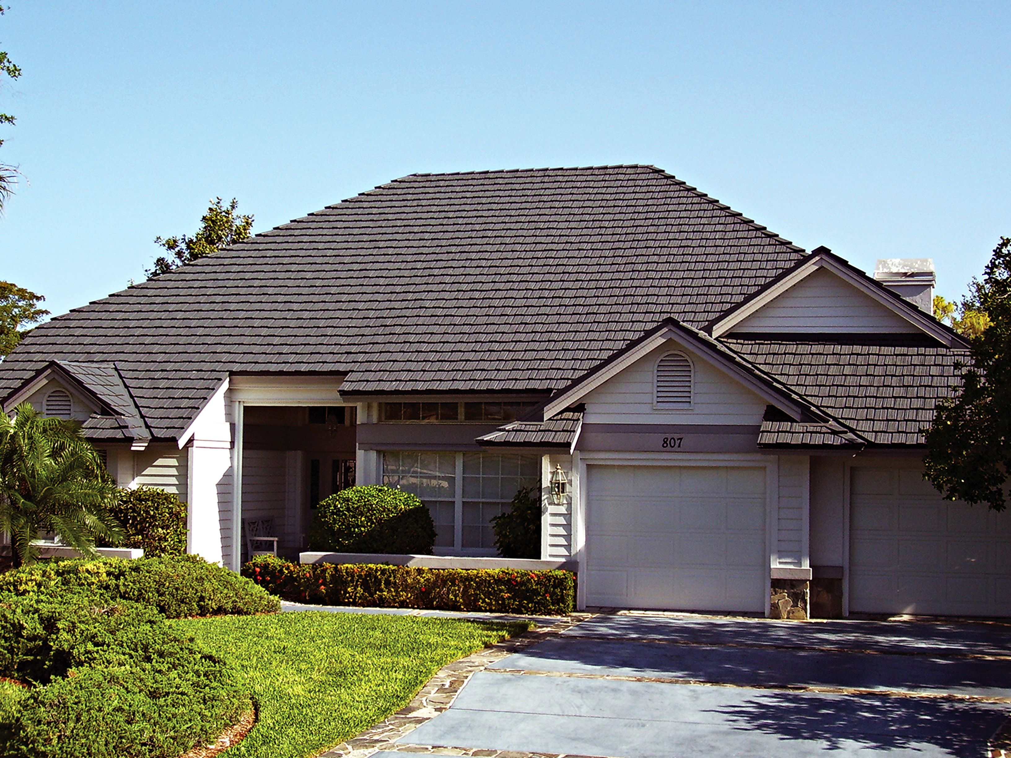 A Beautiful Metal Roof Metal Roofing Systems Architectural Shingles Metal Roof Tiles