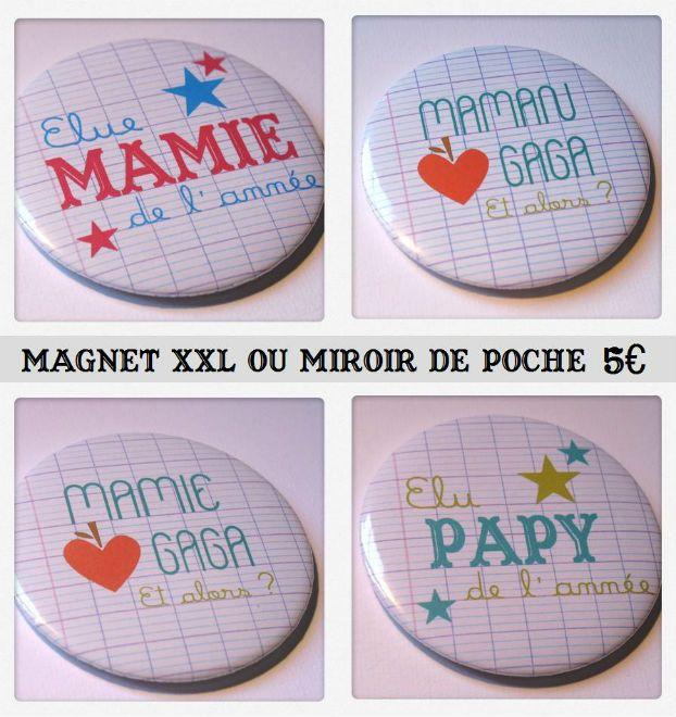 Petit cadeau pour Papy et Mamie .dansmestiroirs.| Carte