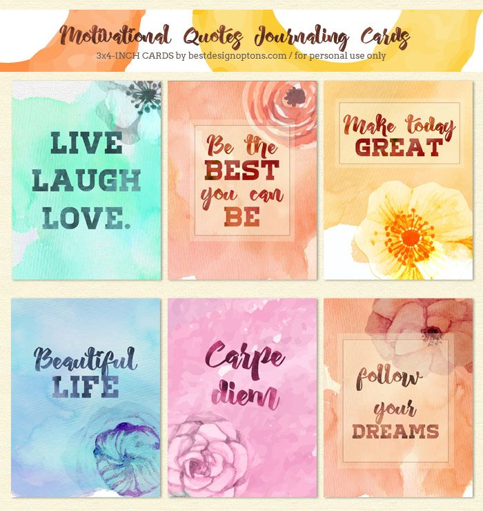 graphic regarding Free Printable Journaling Cards titled journaling-playing cards-rates CJM Develop Delighted Reminiscences