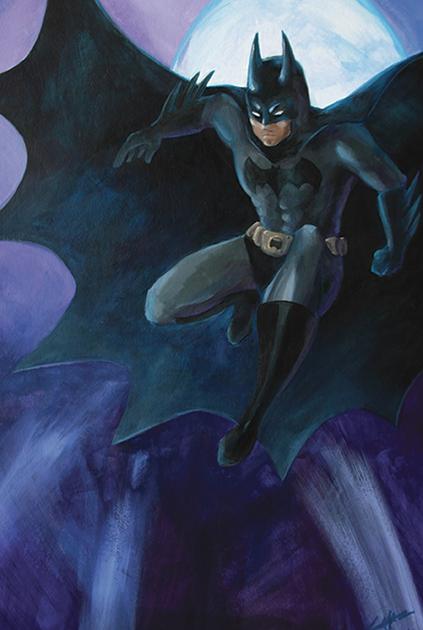 Batman by Lorraine Yee [©2014]