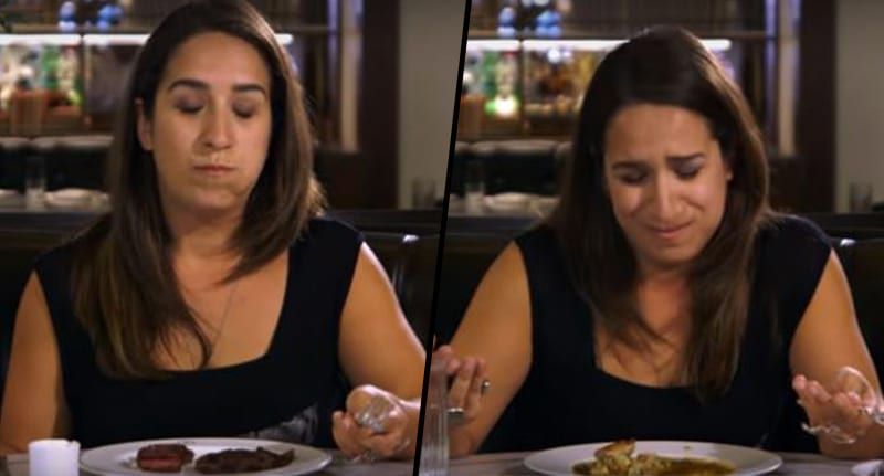 Vegetarian Loses Her Sh*t Eating Meat For First Time In 22 Years -    By :     Alex Mays      |  04/11/16                 It's hard to fathom what it's really like to go without eating meat for such a long period ...