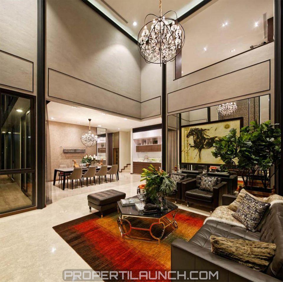 Connote Design Interior Ruang Tamu NavaPark BSD City Navaparkbsd