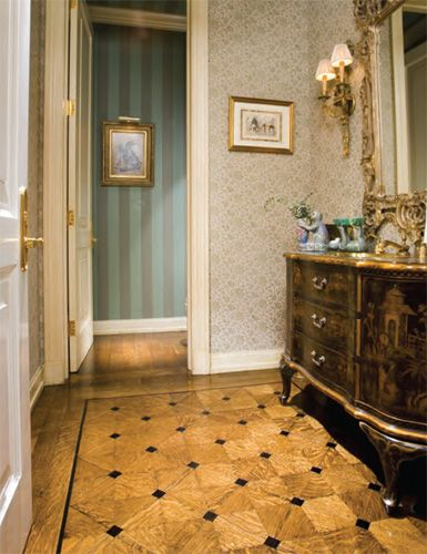 Nice Richard Marshall Fine Flooring  Classic Collection Inlaid Hand Scraped  Quartered Oak Parquet With Royal