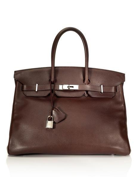 Hermès 35cm Havana Swift Leather Birkin  884e89cfa9b6e