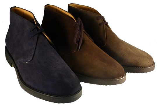 reputable site 5f336 27186 Desert boots made in Italy, by Antica Cuoieria | Antica ...