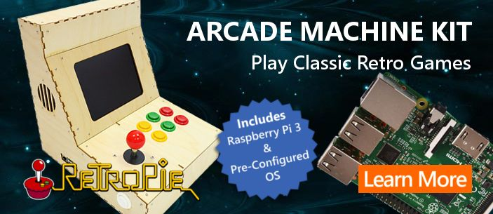 Get The Ultimate Raspberrypi Retro Arcade Machine Kit Easy To