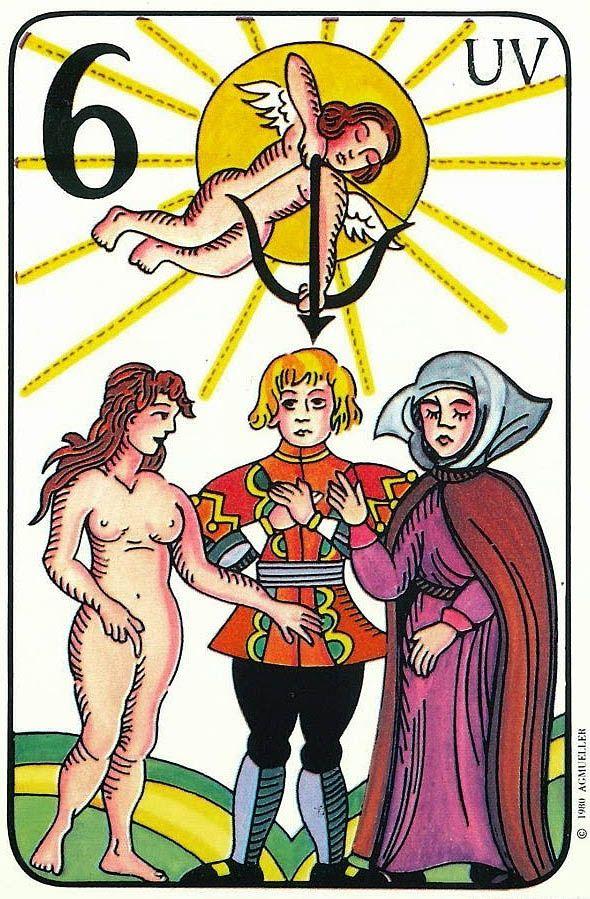 The Lovers - Prager Tarot