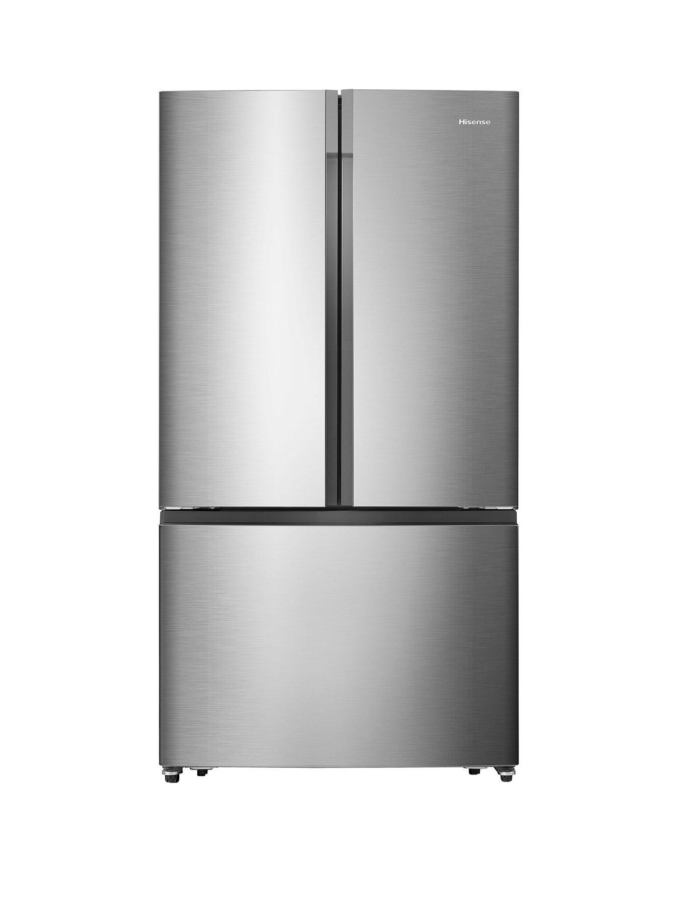 Rf715n4as1 91cm Wide Total No Frost French Door Food Centre Fridge Freezer Stainless Steel Effect With Images Fridge Freezers French Doors Safety Glass