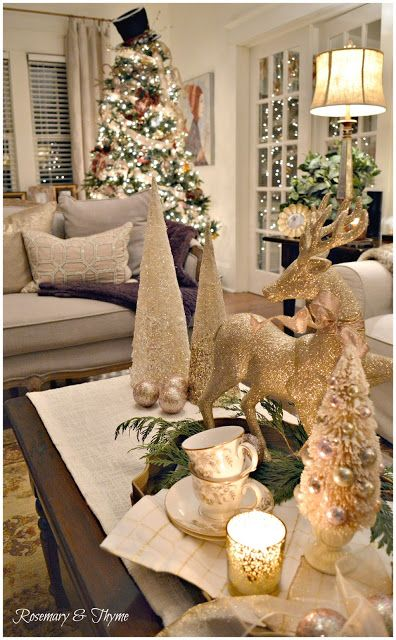 Rosemary And Thyme: Christmas Home Tour   Merry And Bright