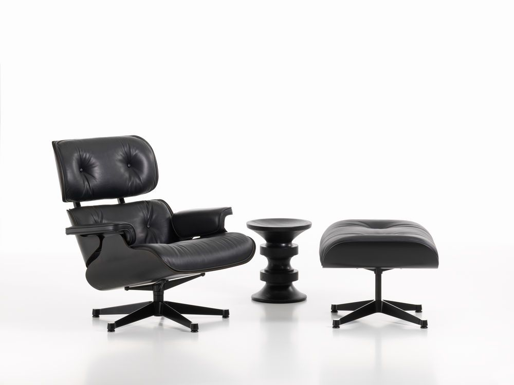 Vitra Lounge Chair Ottoman By Charles Ray Eames The Shells