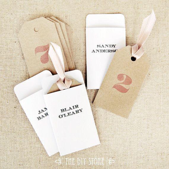 Escort card tags and envelopes diy printables 100 text editable escort card tags and envelopes diy printables 100 text editable wedding escort junglespirit Images