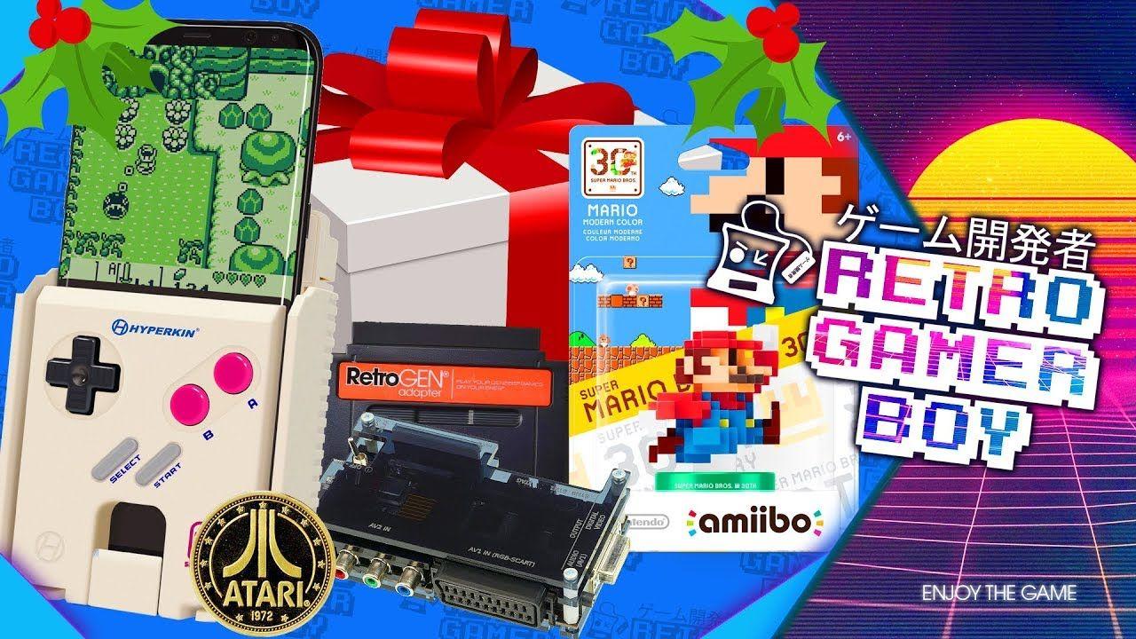 Retro Gaming Christmas Gift Ideas Retro Gaming Games Retro