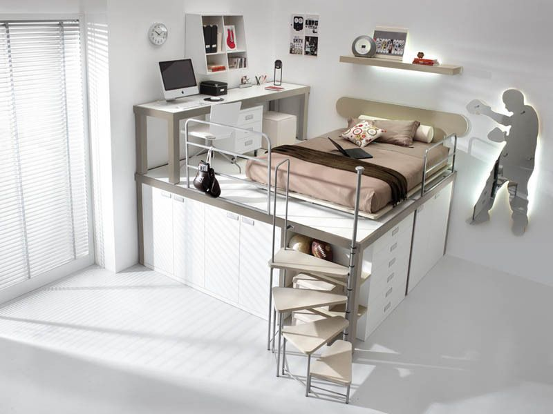 12 Space Saving Furniture Ideas For Kids Rooms Loft Beds For Teens Creative Bedroom Bunk Bed With Desk