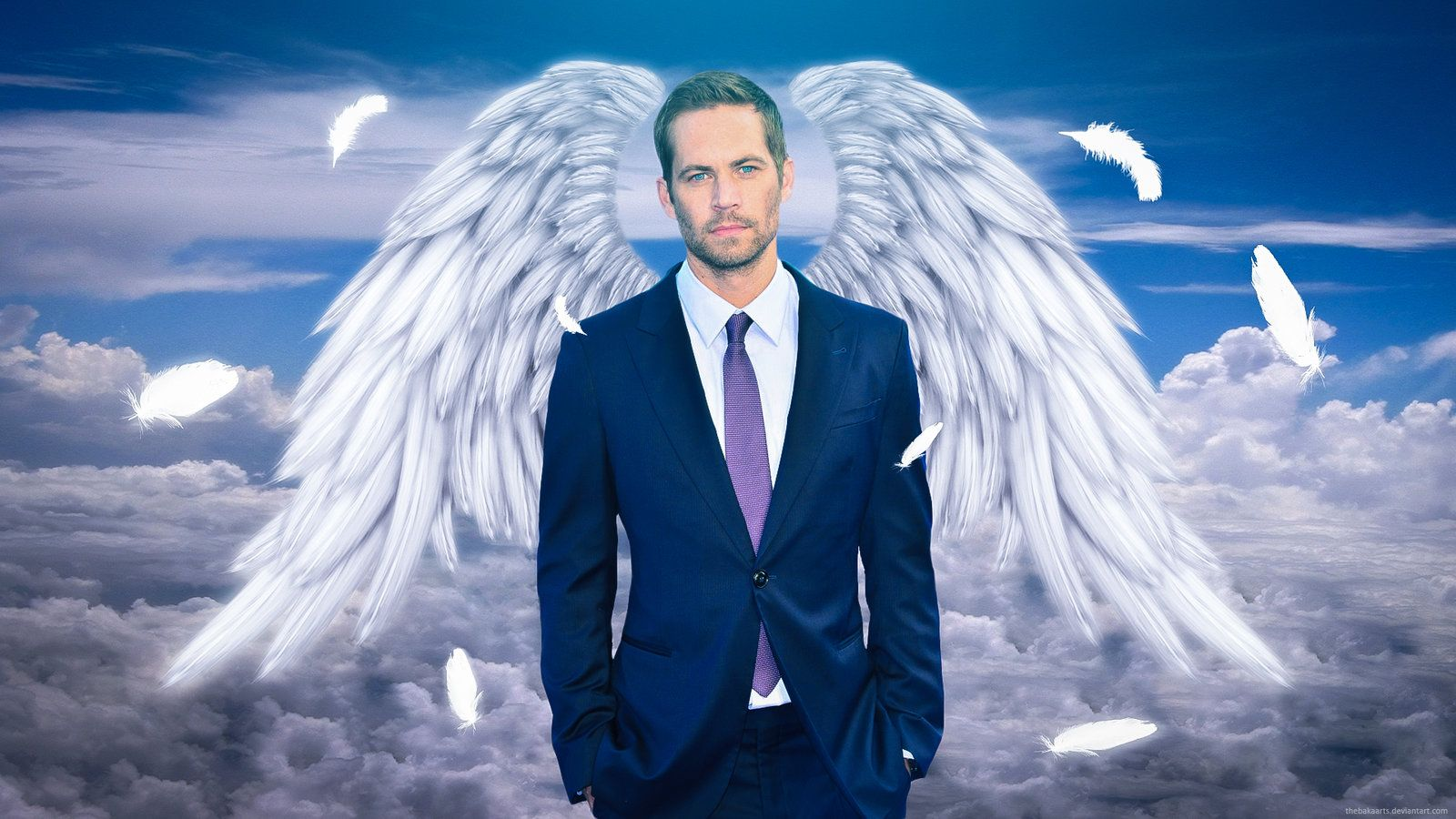 Celebrity Angels Paul Walker