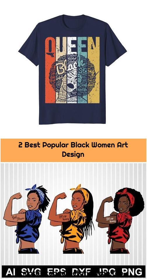 2 Best Popular Black Women Art Design 1. Rosie the riveter svg Black woman svg African american svg