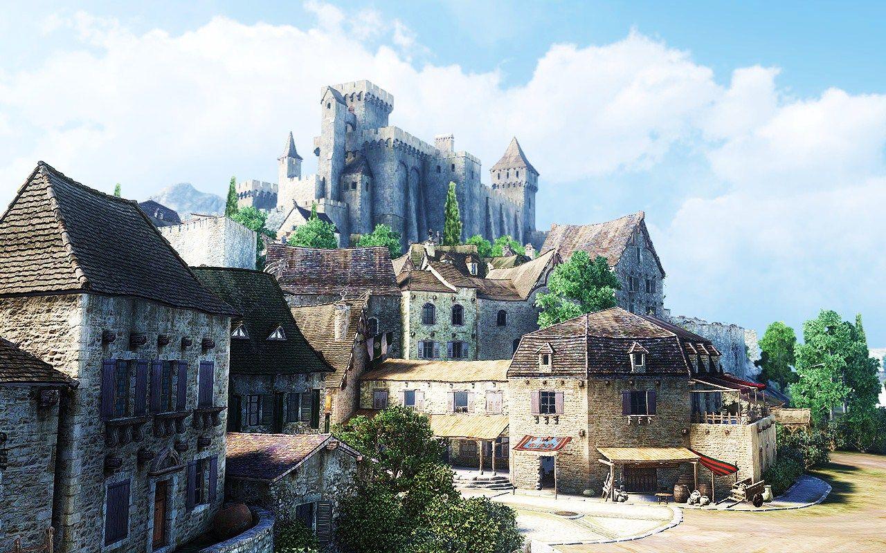 The World Fantasy Landscape Anime Scenery Scenery