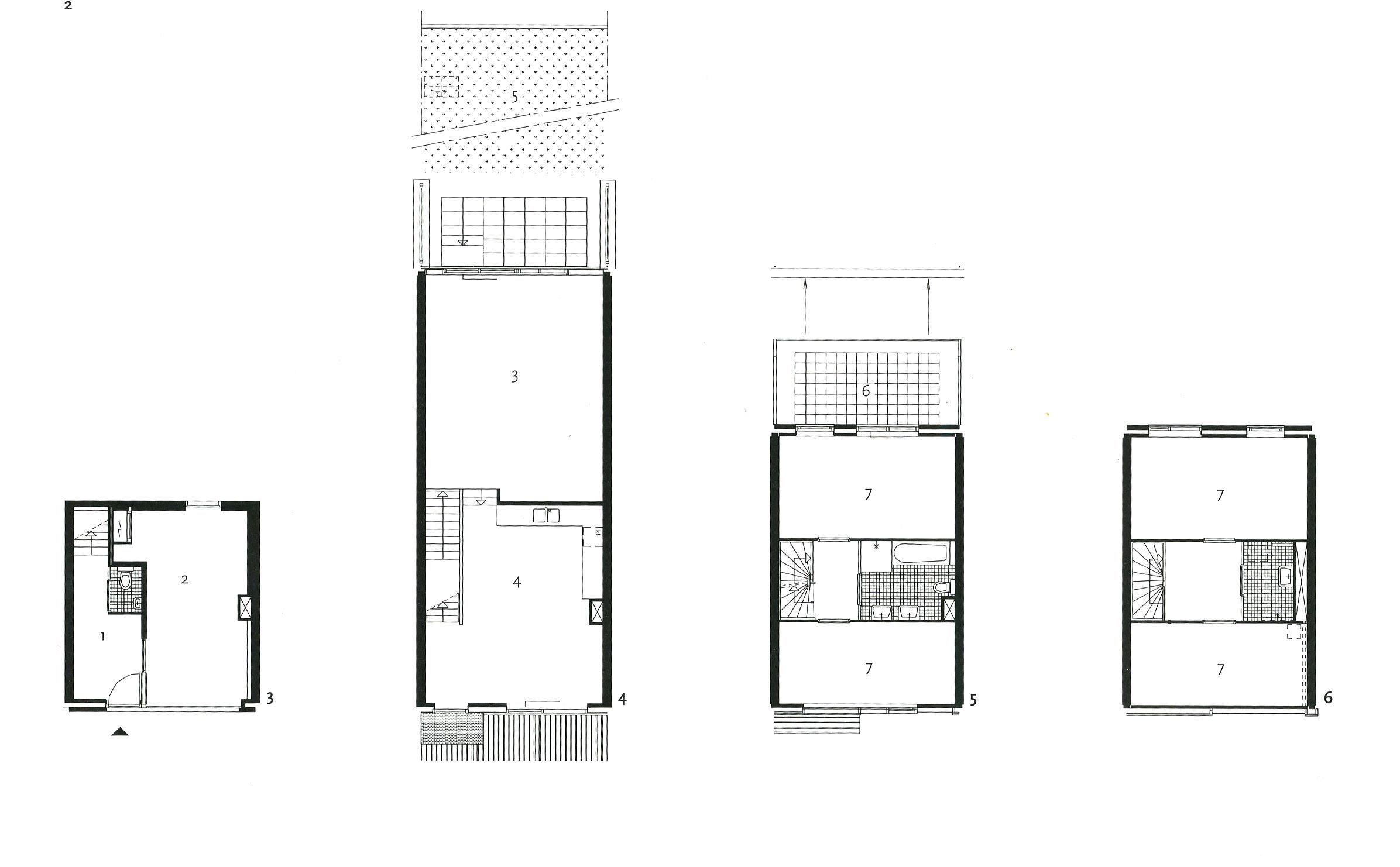 BIG Architects' Mountain Dwellings Floor Plans