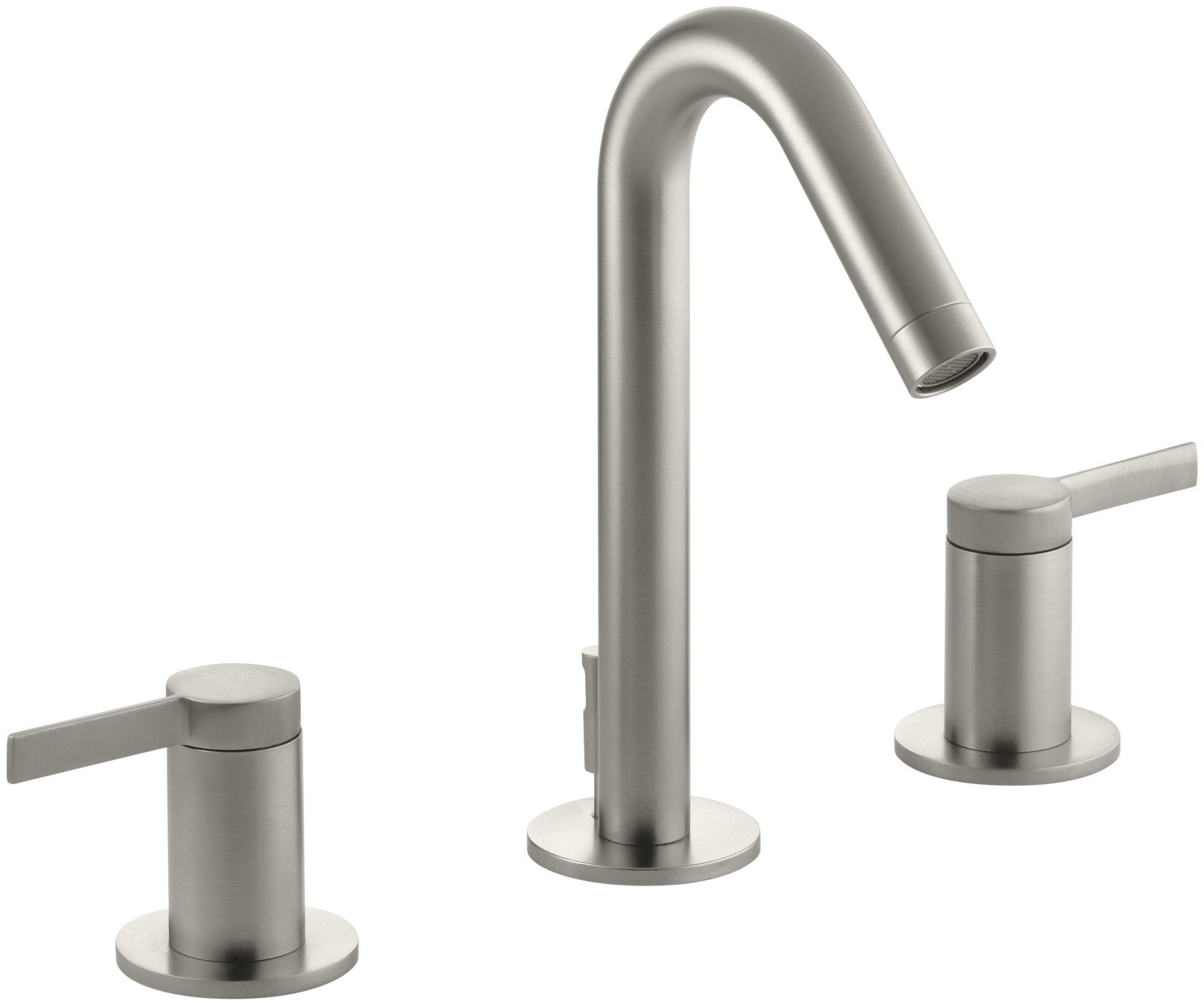 Features: -Two-handle widespread bathroom faucet for 8\'\'-16 ...