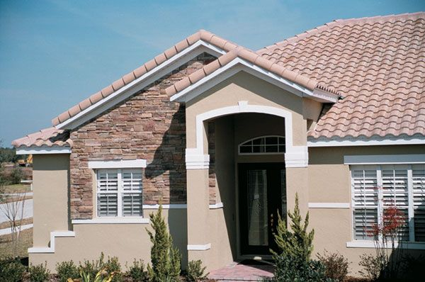 Hanson Roof Tile Concrete Roof Tile In Many Beautiful Styles And Colors House Exterior Concrete Roof Tiles Curb Appeal Landscape