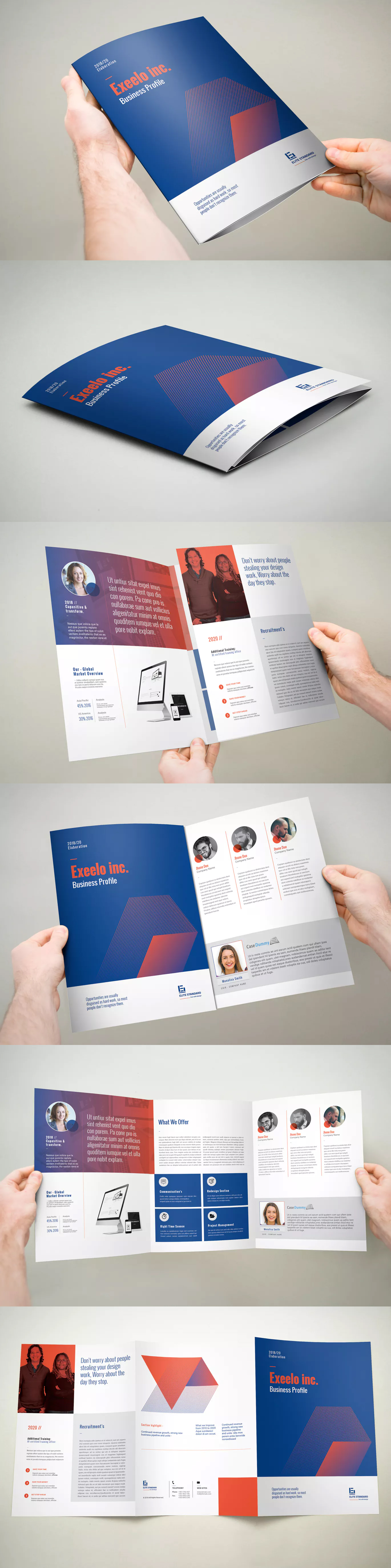 XA Trifold Brochure Template InDesign INDD A Muckup - Indesign trifold brochure template