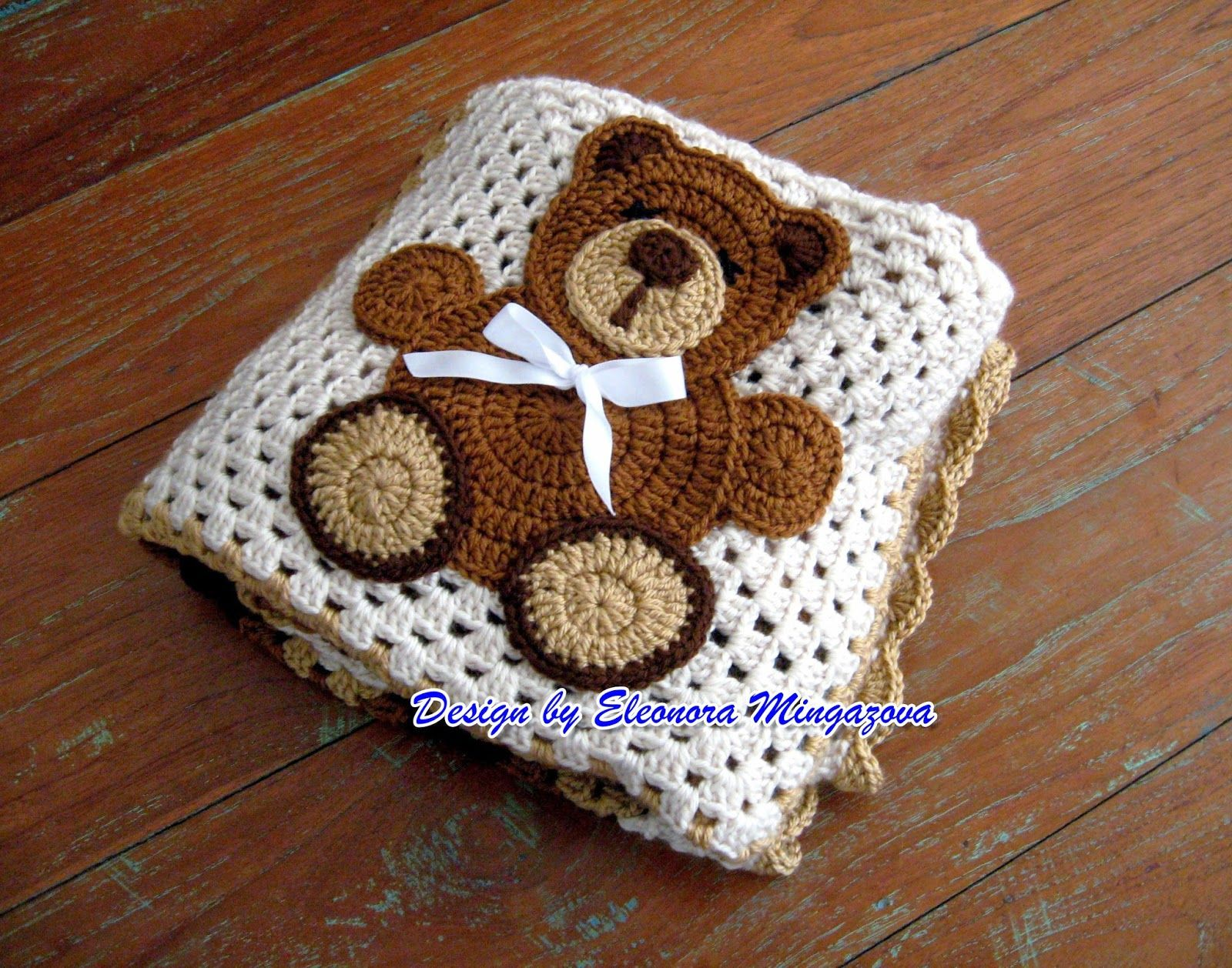Teddy Bear Crochet Blanket | Pinterest | Bear blanket, Crochet teddy ...