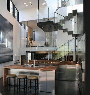 Atlanta Interior Of Ansley Park Glass House Cool