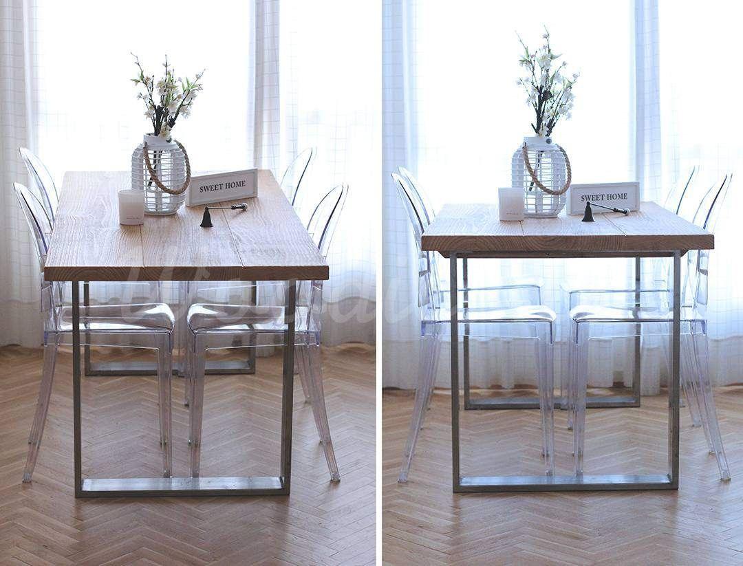 Mesa Comedor Industrial Mesas Woodies Mesa De Comedor  # Muebles Woodies