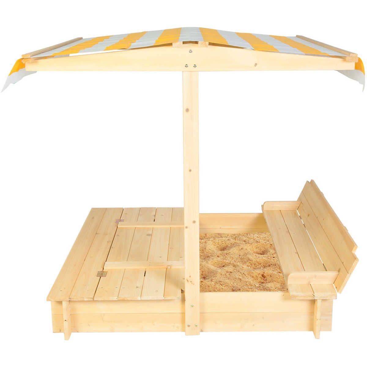 Lifespan Kids Skipper Sandpit With Canopy | BIG W | Kid