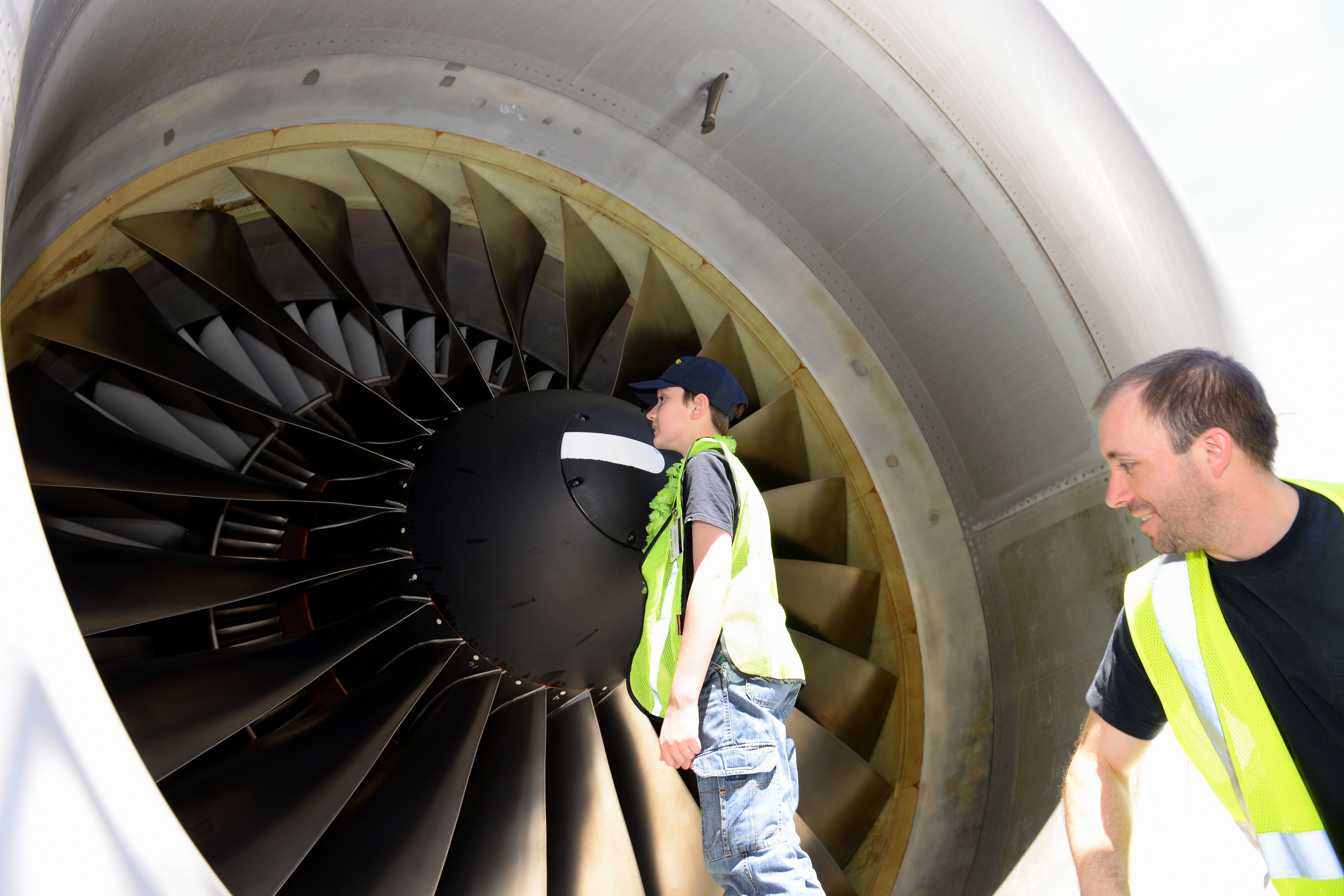 Cavan Had The Opportunity To Check Out The Aircraft Itself