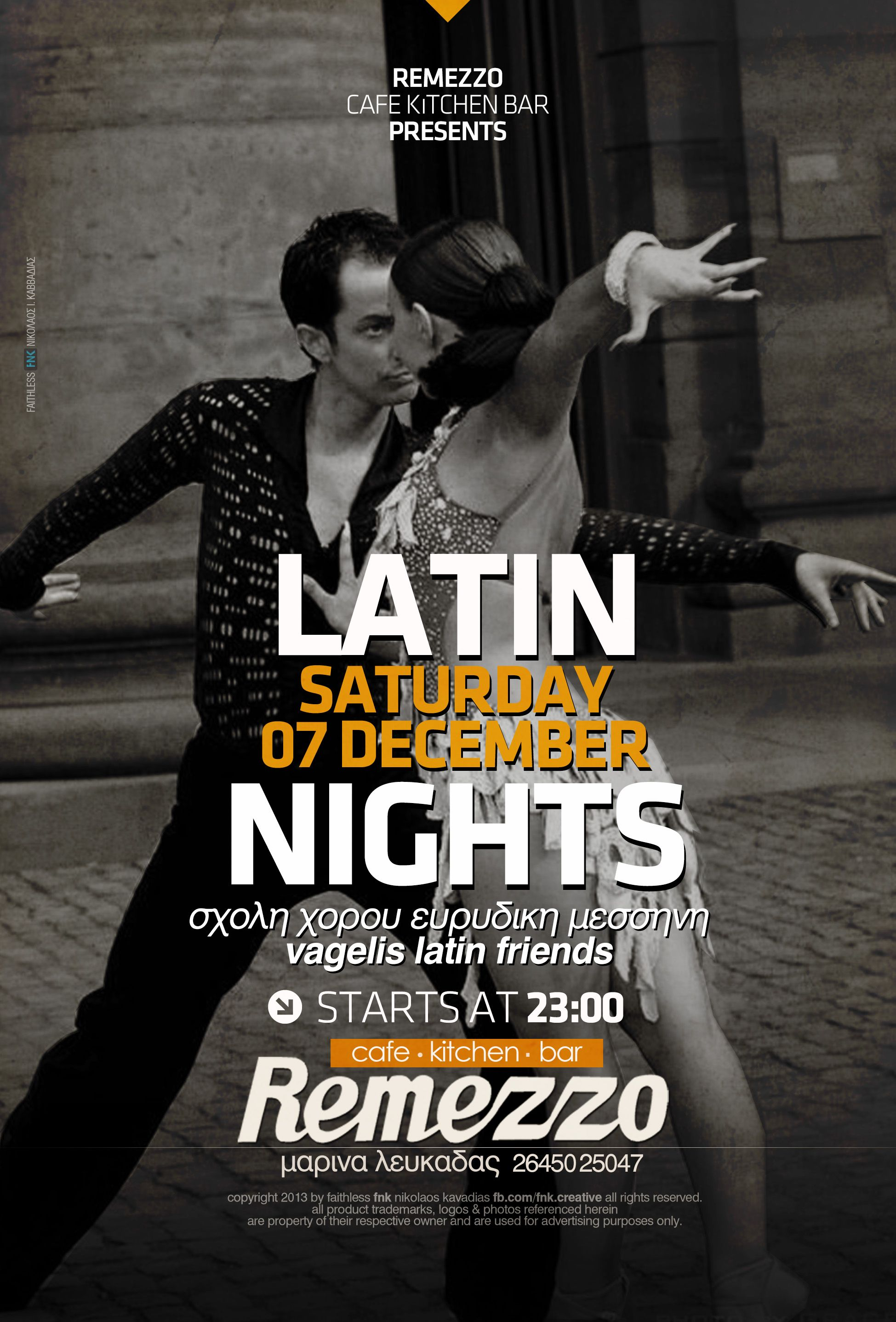 latin nights event poster http://fb.com/fnk.creative | FNK: Event ... for Creative Event Posters  66pct