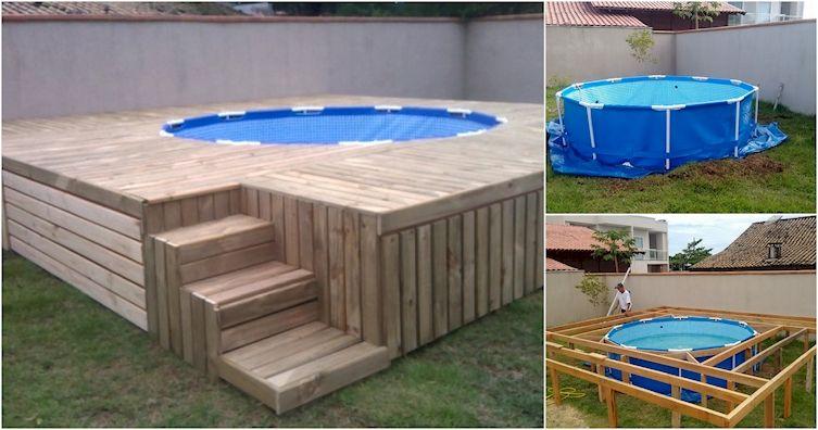 Diply Prefabricated Swimming Pool Swimming Pool Decks Building A Swimming Pool