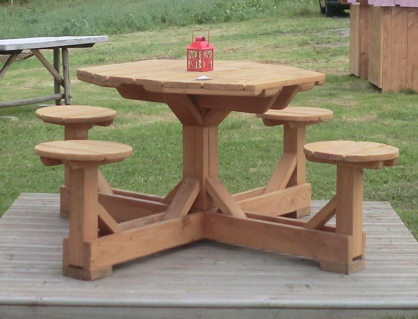 tables de jardin en bois : Scierie Blondy | Banc jardin en ...