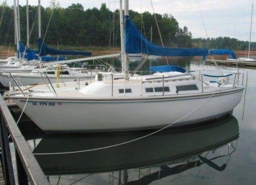 1980 Catalina Sailboat 25ft New Mast And Sails Sailing Sailboat Catalina