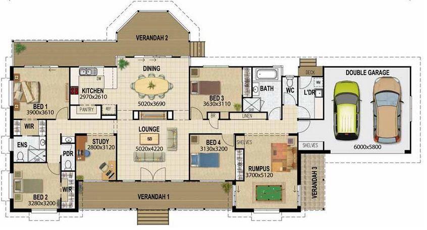 Plano de casa de 8 x 20 proyecto pinterest - Planos para casa ...