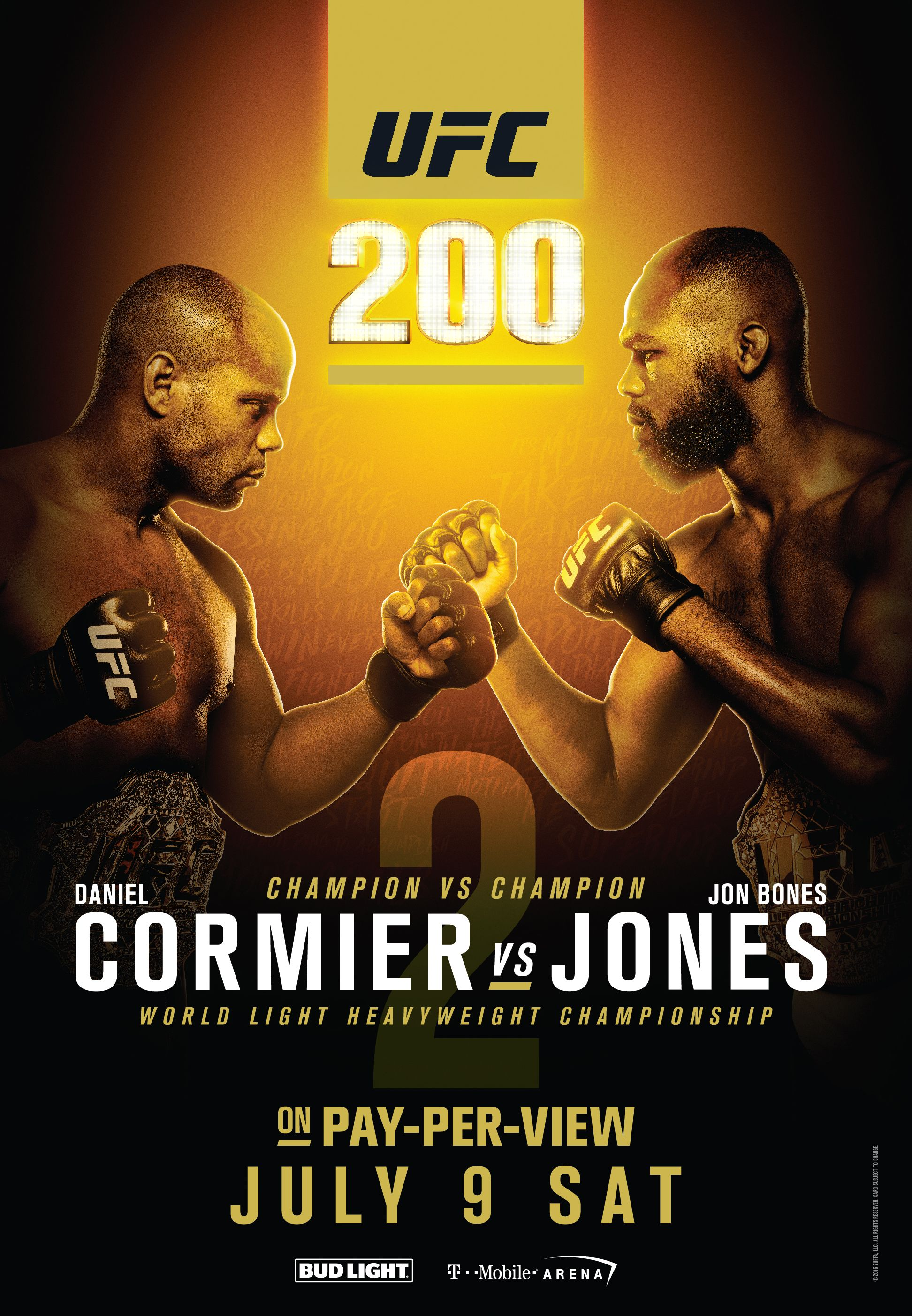 Ufc 200 Cormier Vs Jones Ii Fight Scrapped Ufc Ufc Events