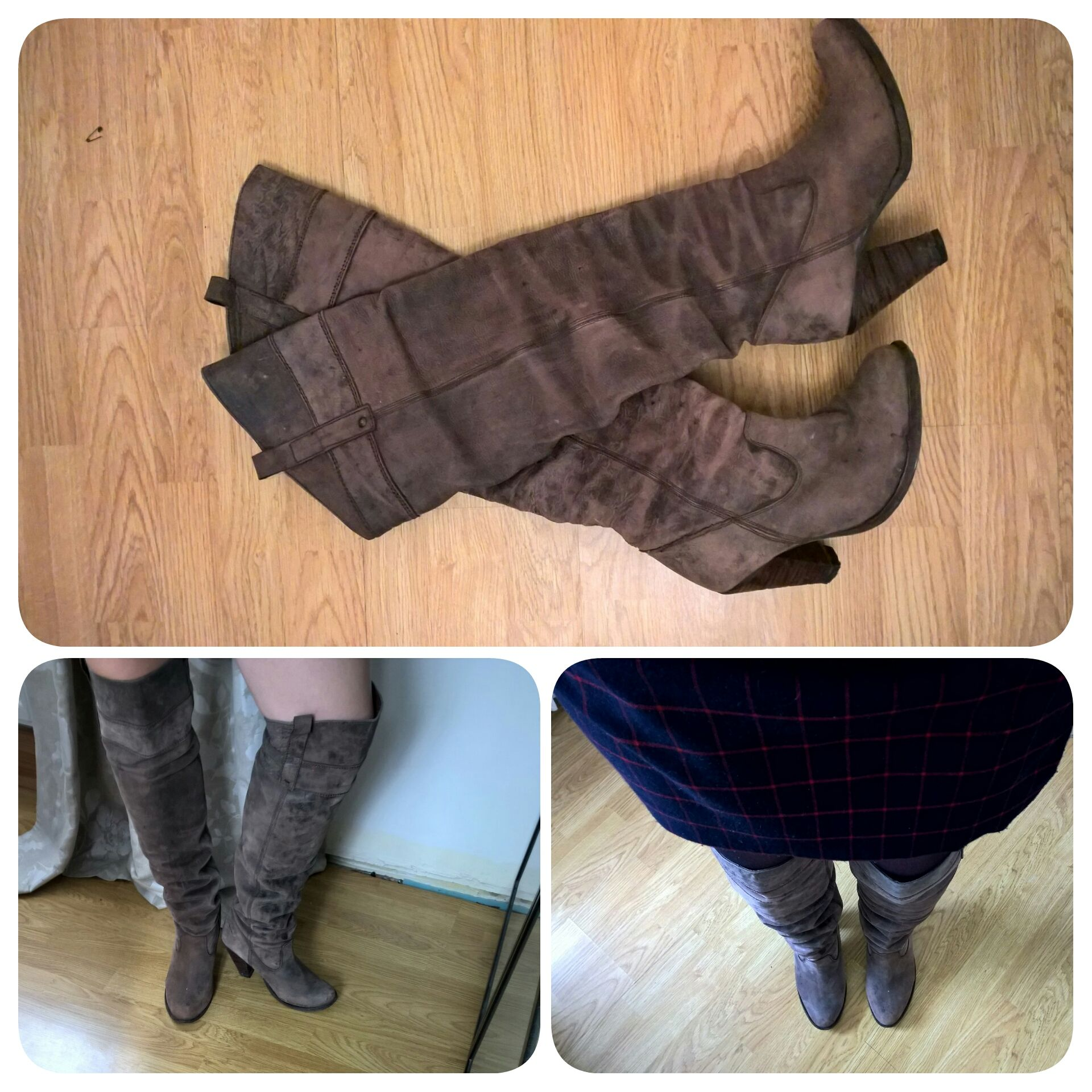 This year when it comes to my staple winter boot I am re-wearing!!! If I was a celeb I would be slated but as I am Jane Doe I don't think anyone will know so why not. This pair of boots was a gift ...