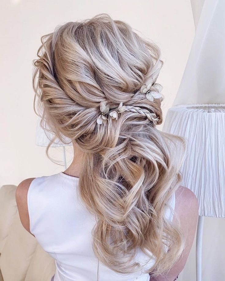 Blown Away With These 57 Beautiful Messy Wedding Hair Textured