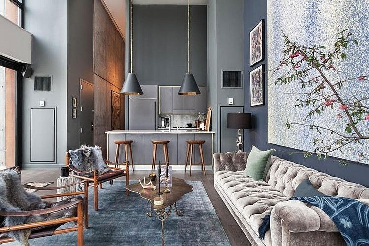 002 contemporary apartment brooklyn york Contemporary Apartment in ...