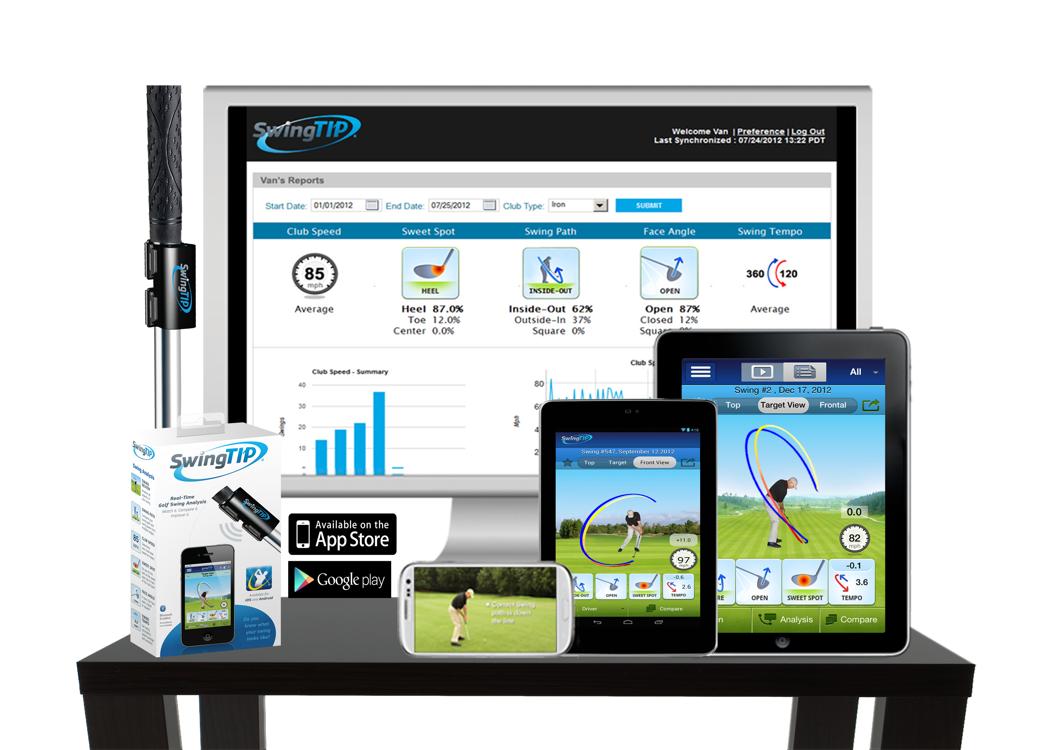 SwingTIP Mobile Golf Swing Analyzer App (With images