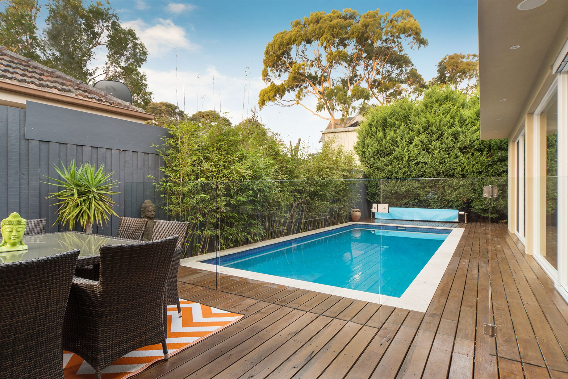 Frameless Channel Pool Fencing Seamless And Easy To Install Glass Panel Pool Fencing Is An Excellent Addition To Any Outdo Pool Fence Glass Pool Fencing Pool