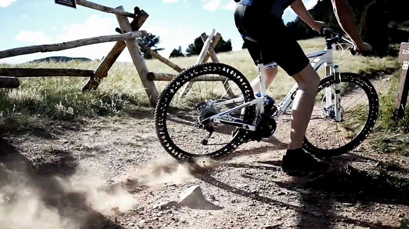 airless bicycle tires - energy return wheel by britek